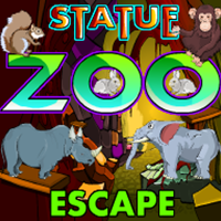 Ena Statue Zoo Escape