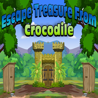 Escape Treasure From Croc…