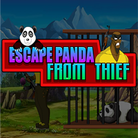Escape Panda From The Thi…