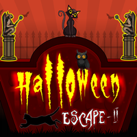 Halloween Cat Escape 2