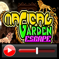 Magical Garden Escape Wal…