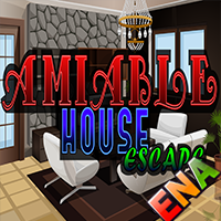 Amiable House Escape Walk…