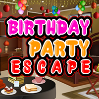 Birthday Party Escape Wal…