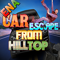 Car Escape From Hilltop W…