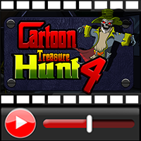 Cartoon Treasure Hunt 4 W…