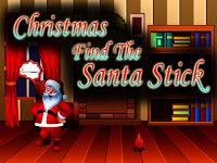 Top10NewGames   Christmas Find The Santa Stick