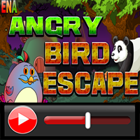 Ena Angry Bird Escape Wal…