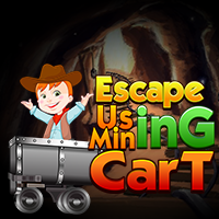 Escape Using Mining Cart