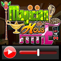 Magician House Escape Wal…