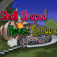 Shell Shaped House Escape…