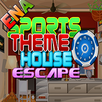 Sports Themed House Escap…