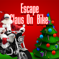 Escape Claus On Bike
