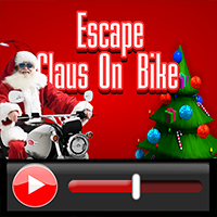 Escape Claus On Bike Walk…