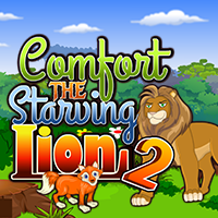 Comfort The Starving Lion…