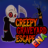 Creepy Graveyard Escape W…