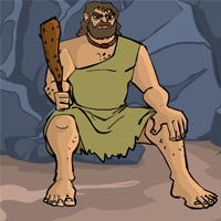Escape From Caveman