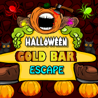 Halloween Gold Bar Escape