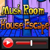 Mushroom House Escape Wal…