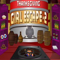Thanksgiving Girl Escape …