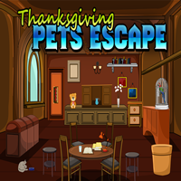 Thanksgiving Pets Escape