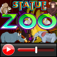 Ena Statue Zoo Escape Wal…