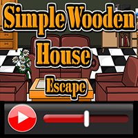 Simple Wooden House Escap…