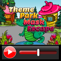 Theme Park Mask Escape Wa…