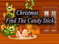 Top10NewGames   Christmas Find The Candy Stick
